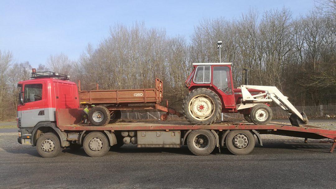 Hvad skal du med en traktor?